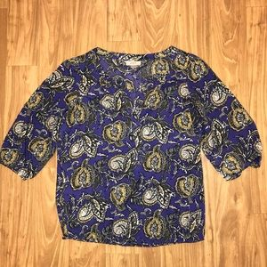 Loft Top - Purple Paisley 💜 Size Small